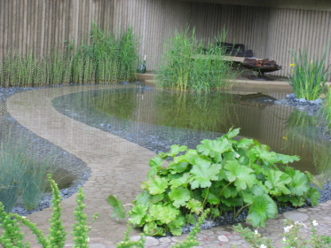 Водоем на участке —отдыхвгармонии с природой
