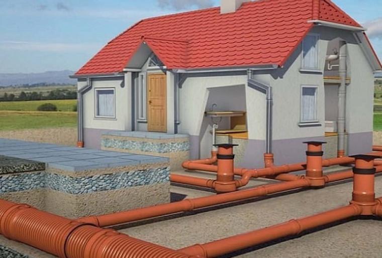 Проект ливневой канализации на участке