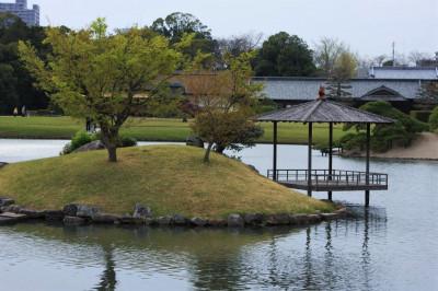 Японский сад Kenrokuen
