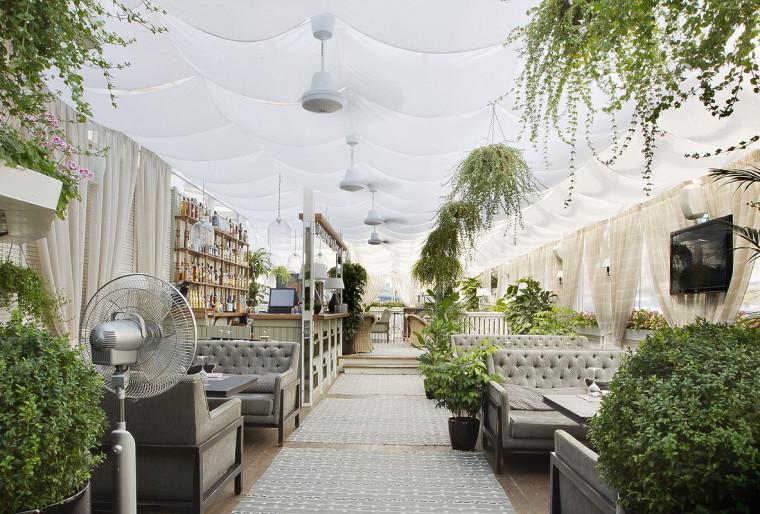 Ландшафтное проектирование участка летнего кафе