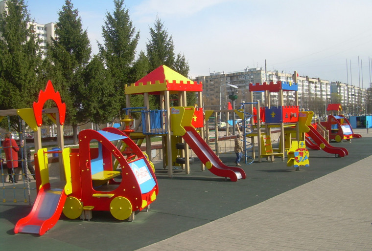 Услуга установки детских площадок на территории