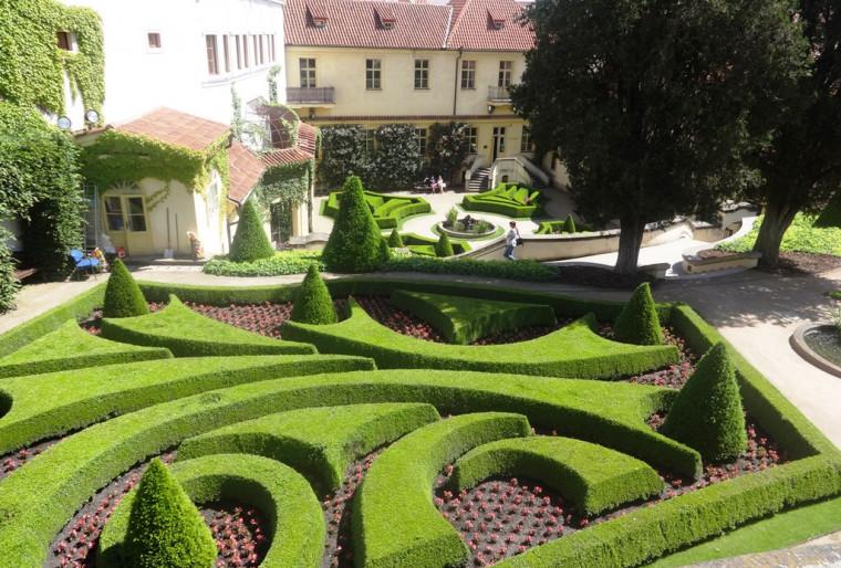 Ландшафт во французском стиле в вашем саду