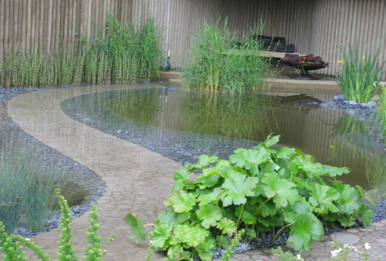 Водоем на участке для умиротворяющего отдыха и гармонии с природой
