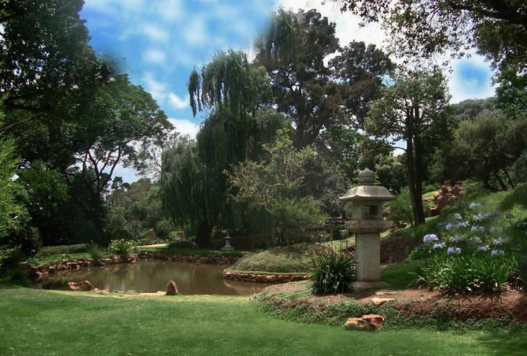 ЮАР сад Йоханнесбург, провинция Гаутенг