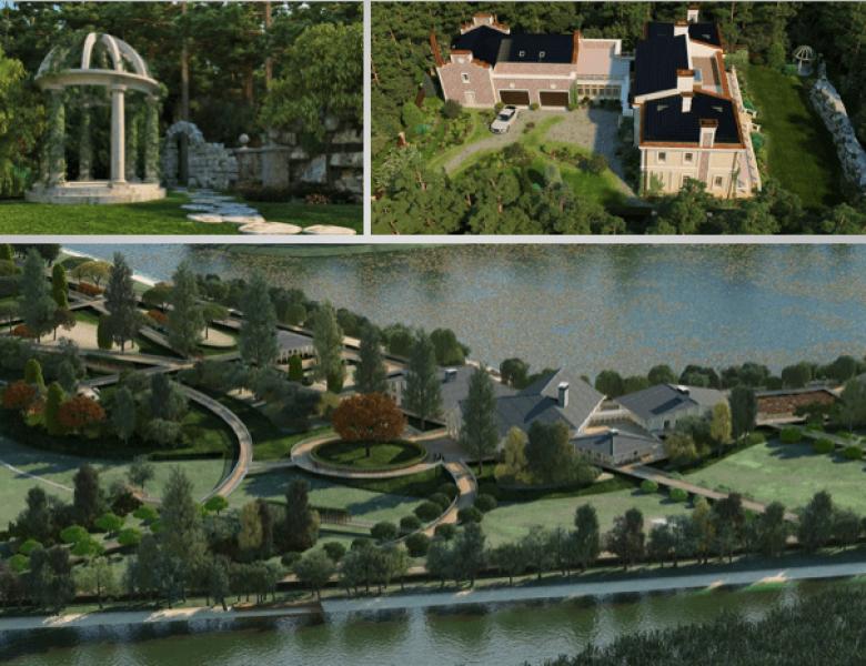 Ландшафтный дизайн в Москве, работаем более 20 лет, воплощаем мечты