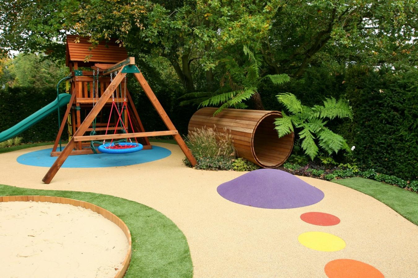 Строительство детских площадок. Детские площадки на участке